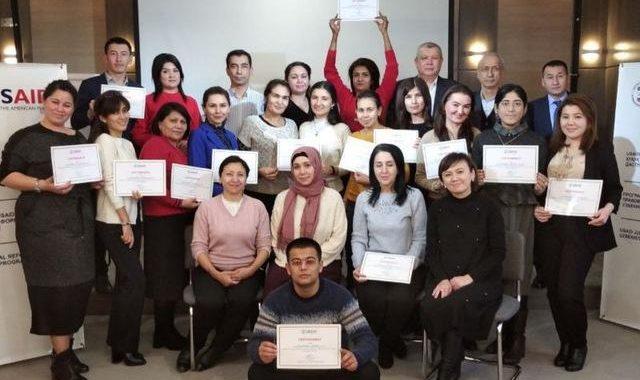 Узбекские журналисты изучили тему гендера