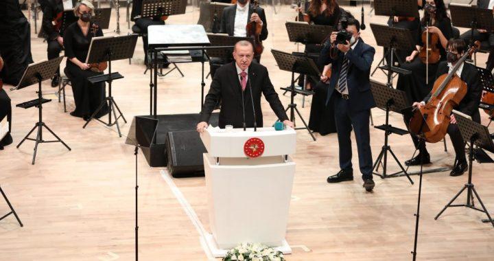 «Turkiya madaniyat shaharchasi» prezident administratsiyasi simfonik orkestri binosi foydalanishga topshirildi