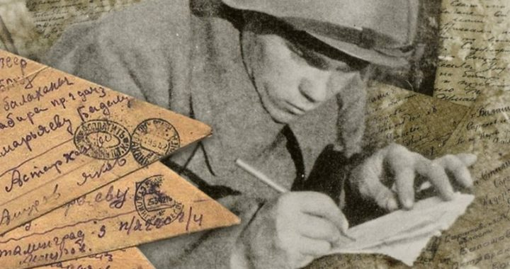 Жоллибай Изентаевнинг «Аскар мактублари» картинасига чизгилар